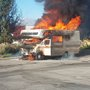 Motor home burns up in Wendy's parking lot in Payson