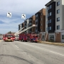 Fire crews respond to structure fire at USC apartment complex