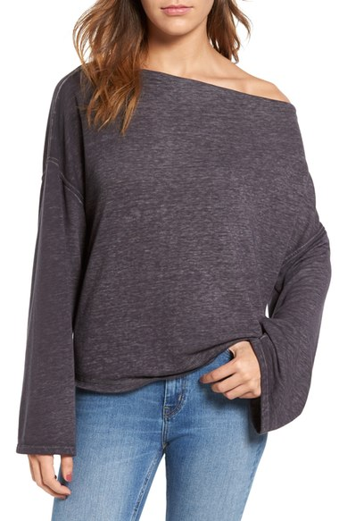 Treasure and Bond Off the Shoulder Sweatshirt $49.00 (Nordstrom)