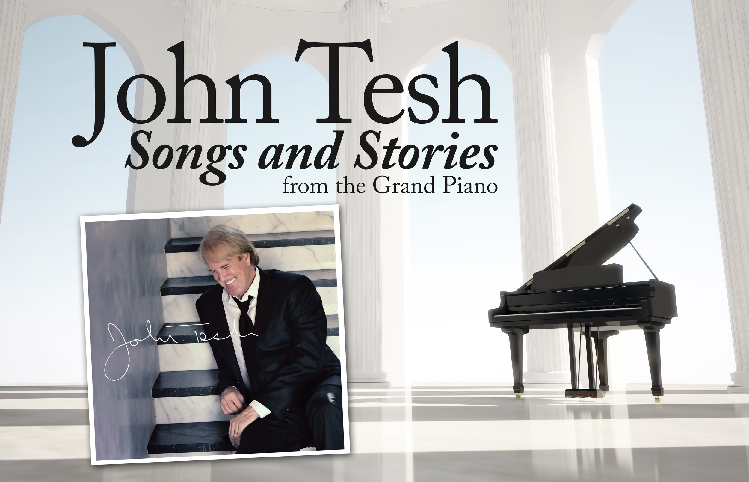 John Tesh is a composer, musician and broadcaster who has earned countless awards and honors including six music Emmys and three gold records. He's also headlined multiple PBS specials and sold 8 million records. (Photo: John Tesh)<br><p></p><p></p><p></p>