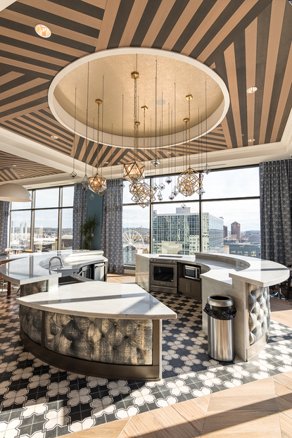 Downtown's Lavish City Club Apartments Are Next-Level