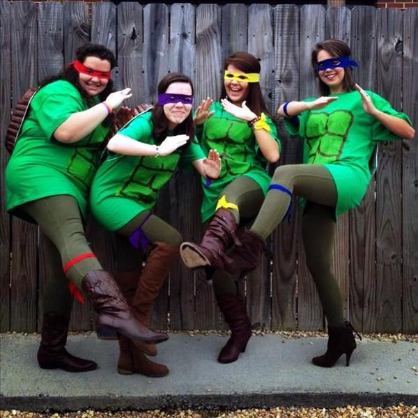 Gardendale First Baptist Church day care works as the Ninja Turtles!