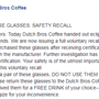 'Do not use them to view the eclipse': Dutch Bros recalls solar eclipse glasses
