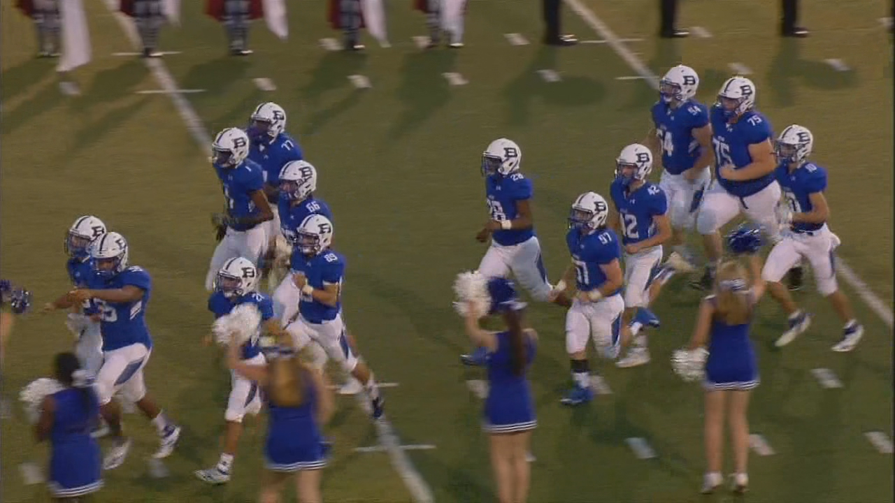 Owen vs. Brevard, 09-20-19<br>Photo credit: WLOS Staff