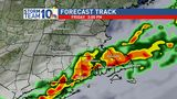 Hot stretch comes to stormy end Friday