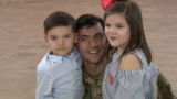 Fort Bliss soldiers return home