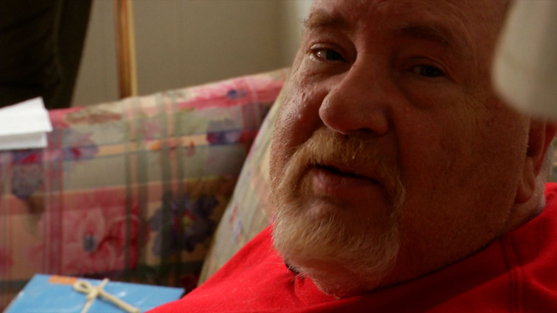 Gene Kindley once got a DNA test for Christmas.{&amp;nbsp;}(Photo credit: WLOS staff)<p></p>