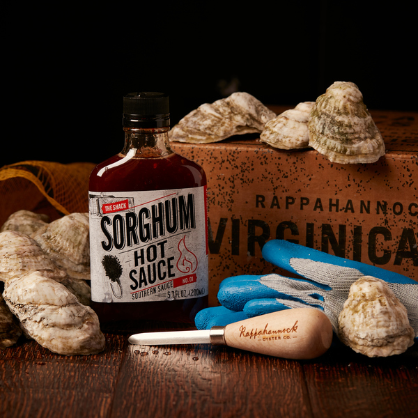 Oyster Gift Box from Rappahannock Oyster Co. // Price: $60 // Buy online // www.rroysters.com // (Image: Rappahannock Oyster Co.)