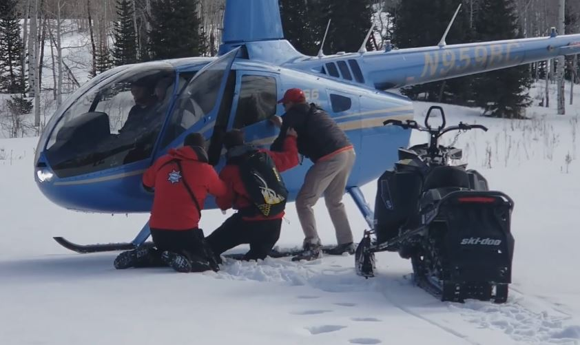 60-Year-old snowmobiler rescued after four nights stranded on Heber Mountain (Photo: Wasatch County Search & Rescue)