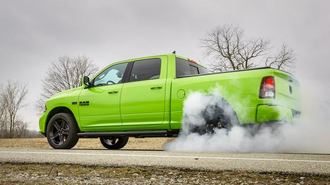 Look Good and Feel Great in the New 2017 Ram 1500 Sport Sublime Green